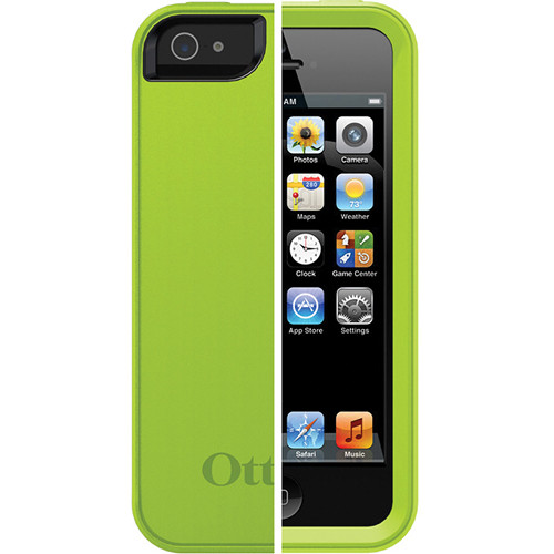 Otter Box Prefix Series Case for iPhone 5 (Lime - Glow Green / Black)