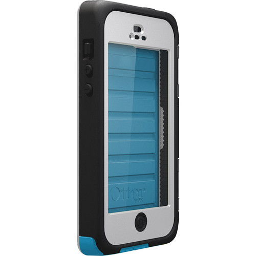 Otter Box Armor Case for iPhone 5 (White/Breeze Blue)