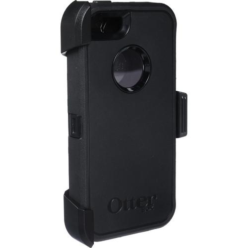 Otter Box Defender Case for iPhone 5/5s/SE (Black)