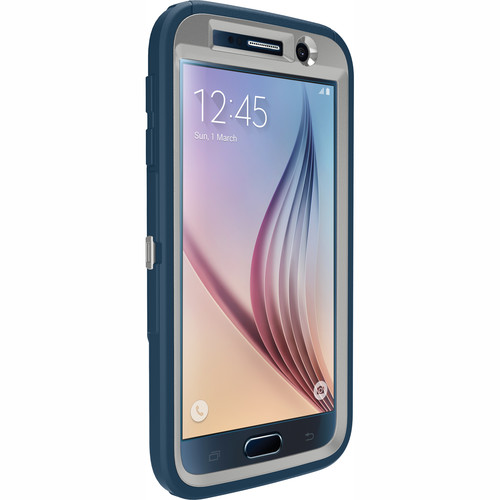 Otter Box Defender Case for Galaxy S6 (Casual Blue)