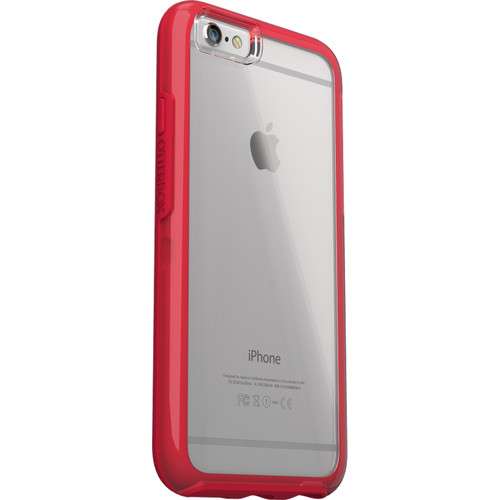 Otter Box MySymmetry Case for iPhone 6/6s (Clear/Scarlet Crystal)