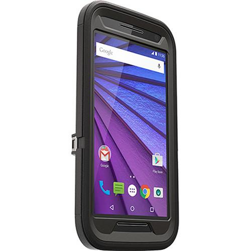 Otter Box Defender Case for Motorola Moto G (3rd Gen.) (Black)