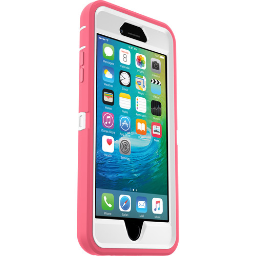 Otter Box Defender Case for Galaxy S5 (Whisper White/Blaze Pink)