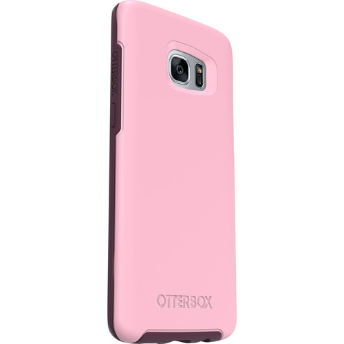 Otter Box Symmetry Series for Galaxy S7 edge (Rose (Light Pink/Dark Purple))