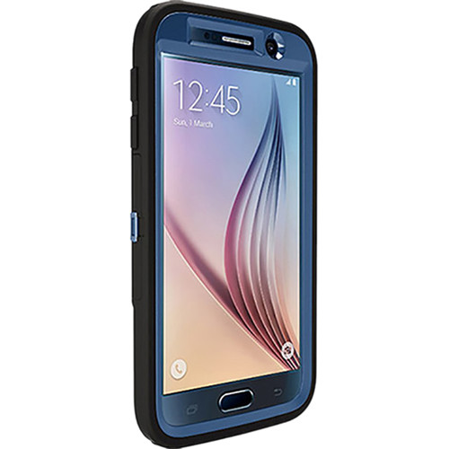Otter Box Defender Case for Galaxy S6 (Royal Blue/Black)