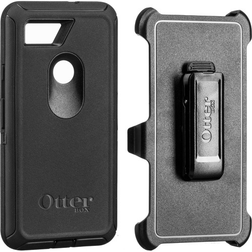 Otter Box Defender Series Screenless Edition Case for Google Pixel 2 XL (Black)