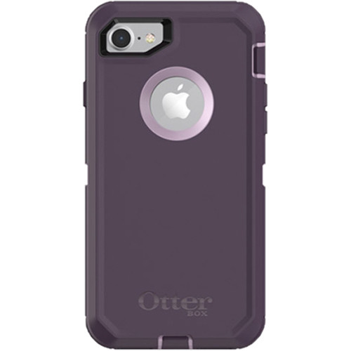 Otter Box Defender Series Case for iPhone 7/8 (Purple Nebula)