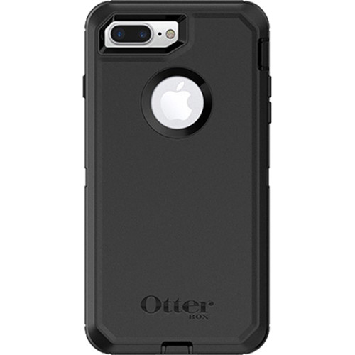 Otter Box Defender Case for iPhone 8 Plus (Black)