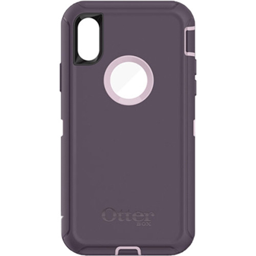 Otter Box Defender Case for iPhone X (Purple Nebula)