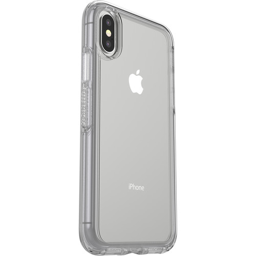 OtterBox Symmetry Series Clear Case for iPhone X (Clear Confidence)