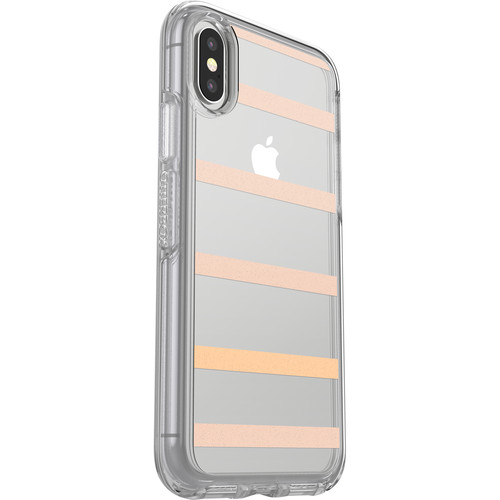 Otter Box Symmetry Series Clear Graphics Case for iPhone X (Inside the Lines)