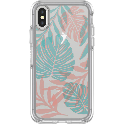 Otter Box Symmetry Series Clear Graphics Case for iPhone X (Easy Breezy)