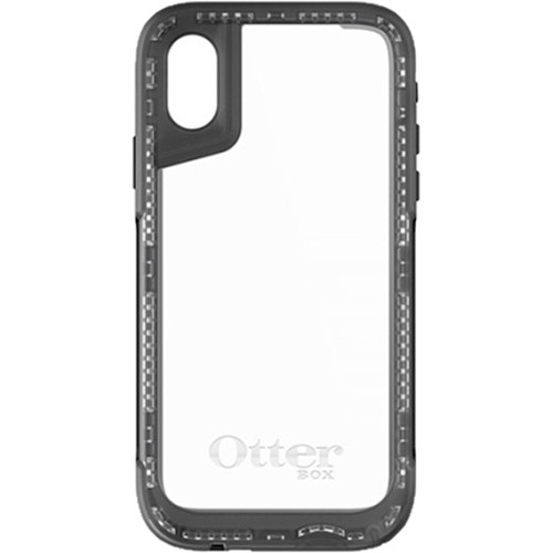 Otter Box Pursuit Series Case for iPhone X (Black/Clear)