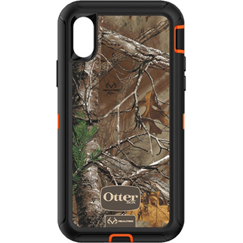 Otter Box Defender Series Screenless Edition Realtree Case for iPhone X (Xtra)