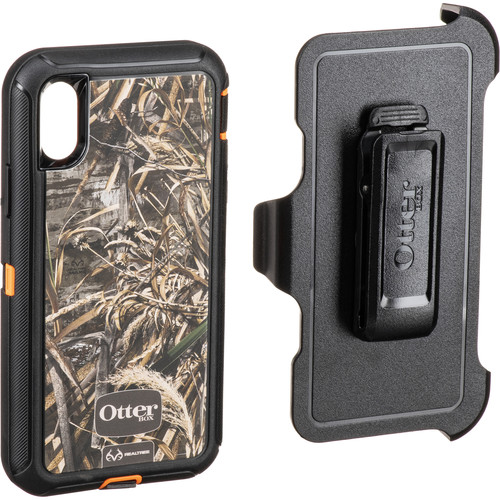 Otter Box Defender Series Screenless Edition Realtree Case for iPhone X (Max 5HD)