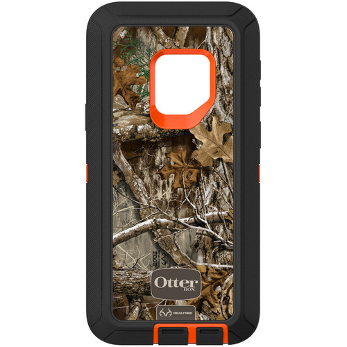 Otter Box Defender Series Screenless Edition Case for Samsung Galaxy S9 (Realtree Blaze Edge)
