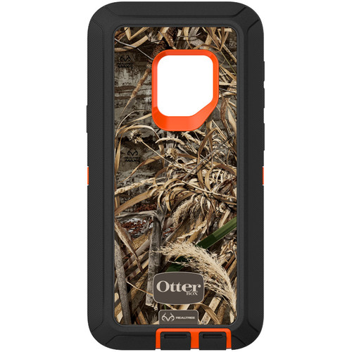 Otter Box Defender Series Screenless Edition Case for Samsung Galaxy S9 (Realtree Max 5 Blaze)