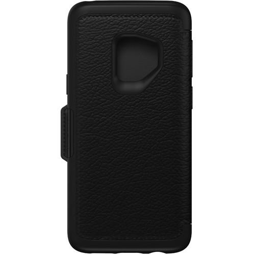 Otter Box Strada Series Folio Case for Samsung Galaxy S9 (Shadow Black)