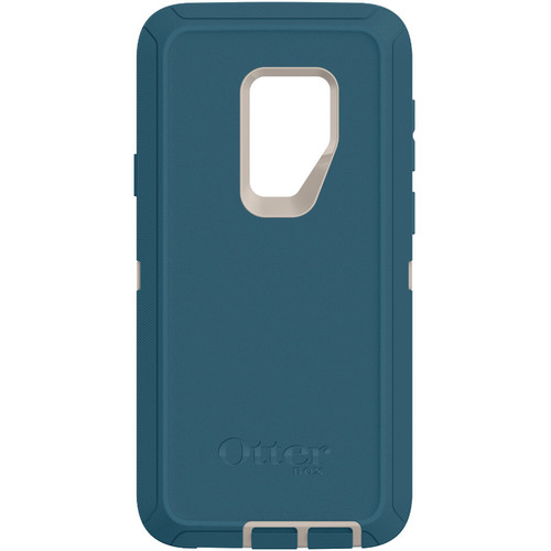 Otter Box Defender Series Screenless Edition Case for Samsung Galaxy S9+ (Big Sur Blue)
