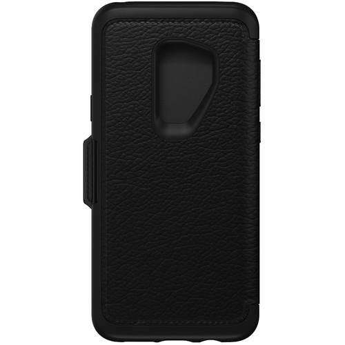 Otter Box Strada Folio Series Case for Samsung Galaxy S9+ (Shadow Black)