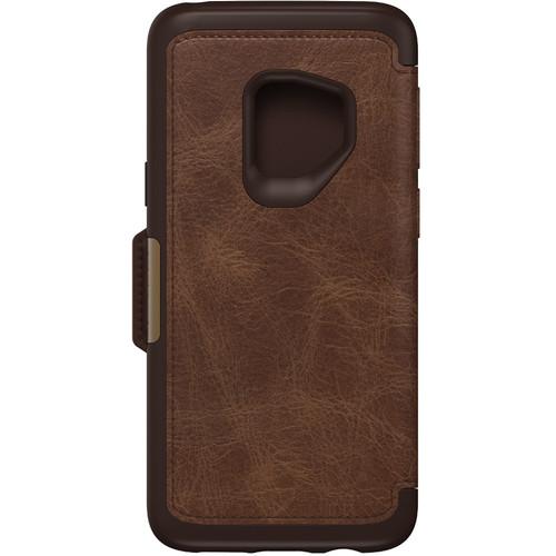 Otter Box Strada Series Folio Case for Samsung Galaxy S9 (Espresso)