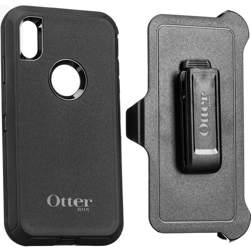 OtterBox Defender Series Case for iPhone Xs Max (Black)