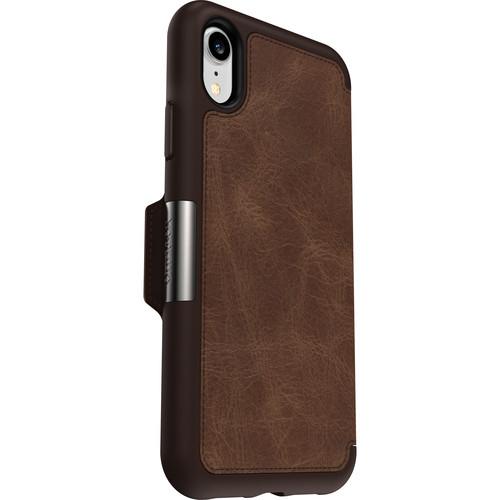 OtterBox Strada Case for iPhone XR (Espresso)