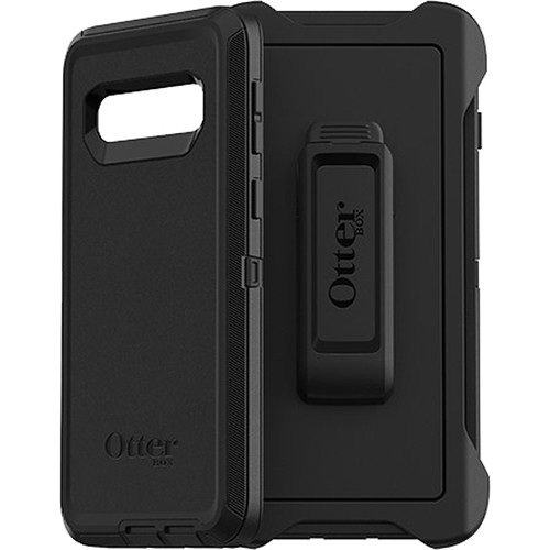 OtterBox Defender Series Case for Samsung Galaxy S10 (Black)