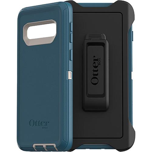 OtterBox Defender Series Case for Samsung Galaxy S10 (Big Sur Blue)