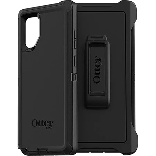 OtterBox Defender Series Case for Samsung Galaxy Note10+ (Black)