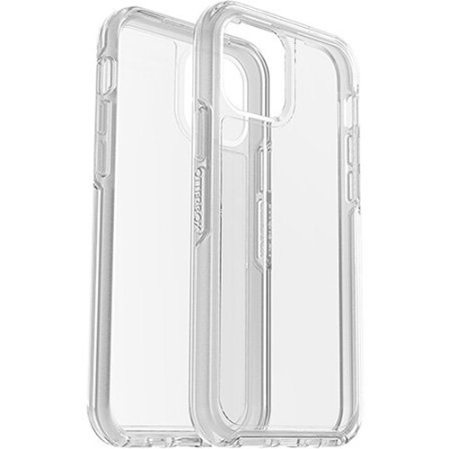 OtterBox Symmetry Clear Smartphone Case for Apple iPhone 12 & 12 Pro (Clear)