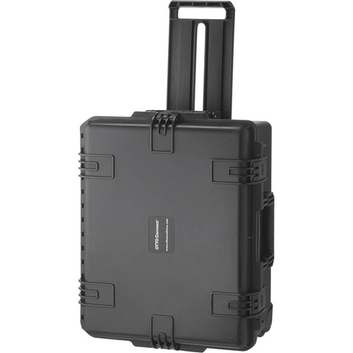 Otto Engineering Water-Resistant Hardshell Heavy-Duty Rolling Case for Up to Eight Intercom Systems