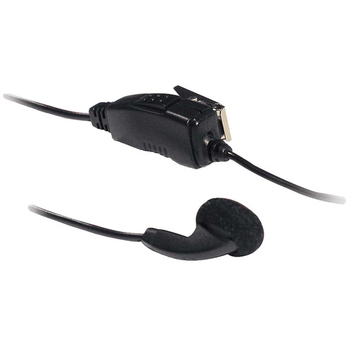 Otto Engineering Earbud with In-Line PTT and Microphone for Kenwood TK250 2-Way Radios