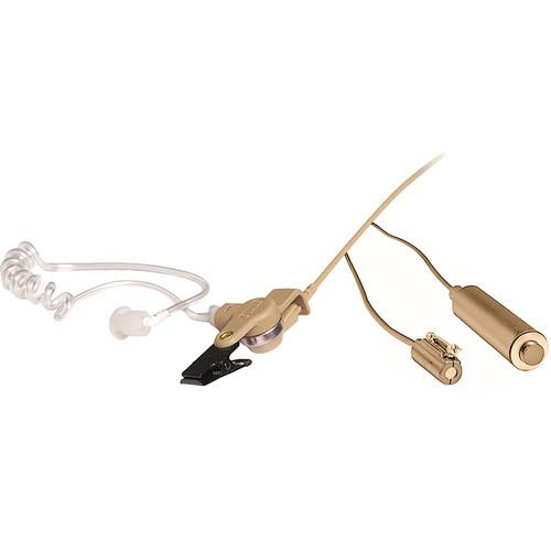 Otto Engineering 3-Wire Mini Lapel Microphone Kit for Motorola ASTRO/SABER Series 2-Way Radios (Beige)