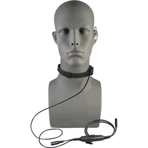 Otto Engineering Tactical Throat Microphone, with Acoustic Tube + 80mm PTT