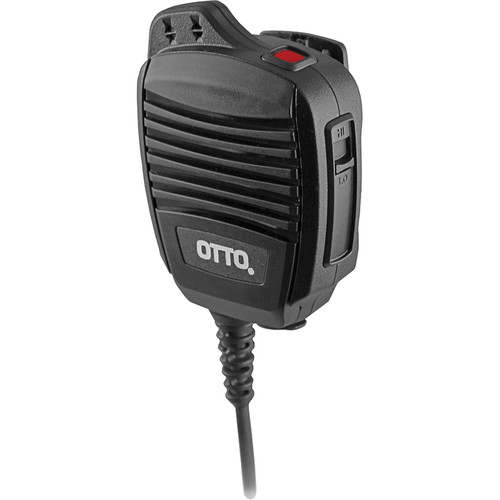 Otto Engineering Revo NC2 Noise Canceling with Coiled Cord, 3.5Mm Earphone Jack, Emergency Button (Hytera)