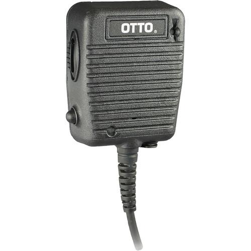 Otto Engineering Storm Speaker Mic, Coil Cord, Volume Control + 2.5mm Earphone Jack