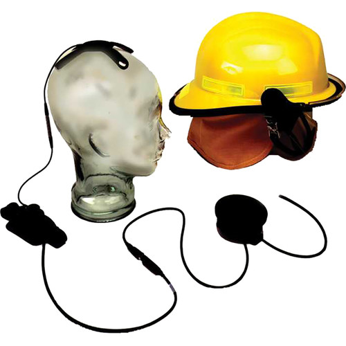 Otto Engineering Tactical Skull Microphone, with Earcup, Aviation Quality, and 80mm PTT/80