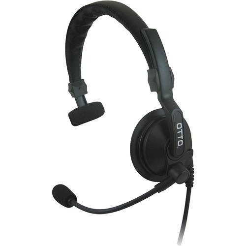 Otto Engineering Lightweight, Single Speaker, Padded Headband with Standard PTT/21