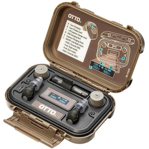 Otto Engineering NoizeBarrier Micro Rechargeable Electronic Earplug Kit