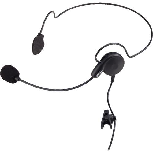 Otto Engineering Breeze, Lightweight, Behind-The-Head, Single Speaker Withstandard Ptt