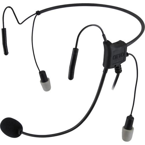 Otto Engineering HurricaneII,LtWt,2Speaker,29dB Reduct,Behind-Head,STD PTT+2.5mm PT for Remote PTT+Noisez Eartips