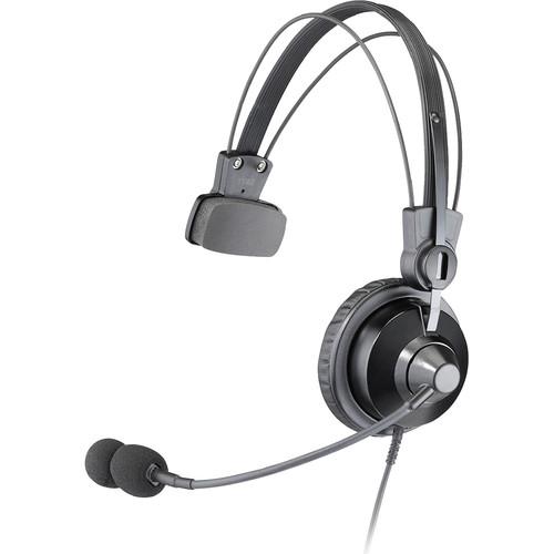 Otto Engineering V4-SP2KB5 Lightwight Premium Single Ear, Mini PTT, Noise Canceling Boom Microphone (Kenwood/KB)