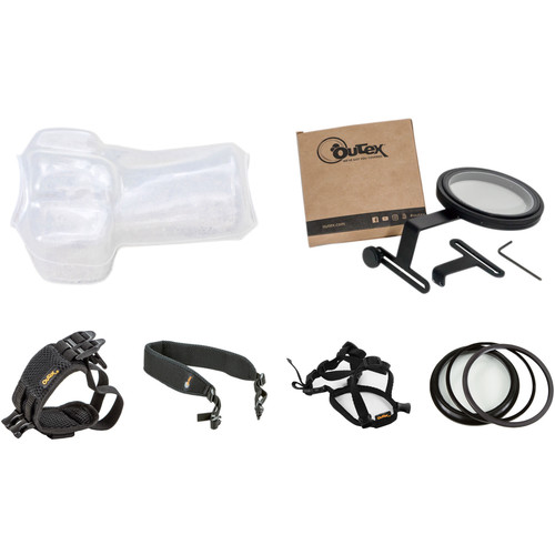 Outex Underwater Camera Cover Kit (Large, 77mm Lens)