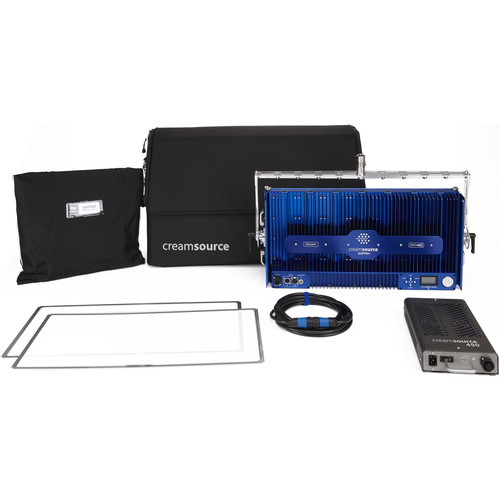 Outsight Creamsource Doppio+ Bender Bi-Color 1x2 LED Panel Pro Kit
