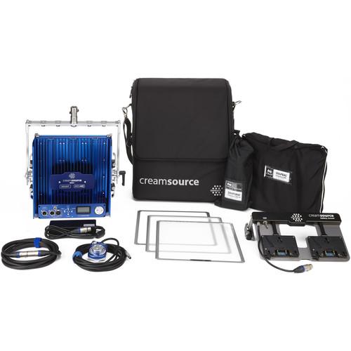 Outsight Creamsource Mini Doppio+ Bender Bi-Color 1x1 LED Panel Gaffer Kit (AB Mount)