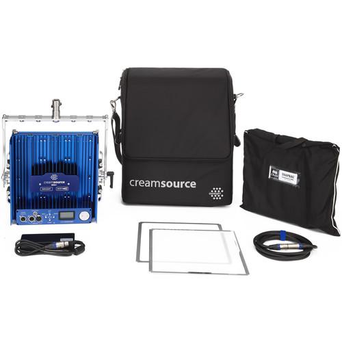 Outsight Creamsource Mini Doppio+ Bender Bi-Color 1x1 LED Panel Pro Kit