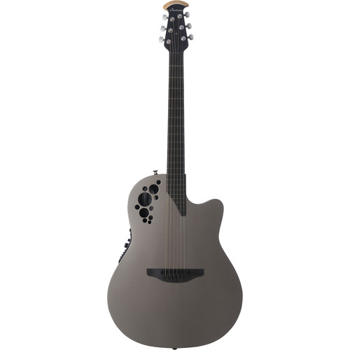 Ovation 1868LXT-SS American Limited LX Elite Series Acoustic/Electric Guitar (Sandstone Textured)