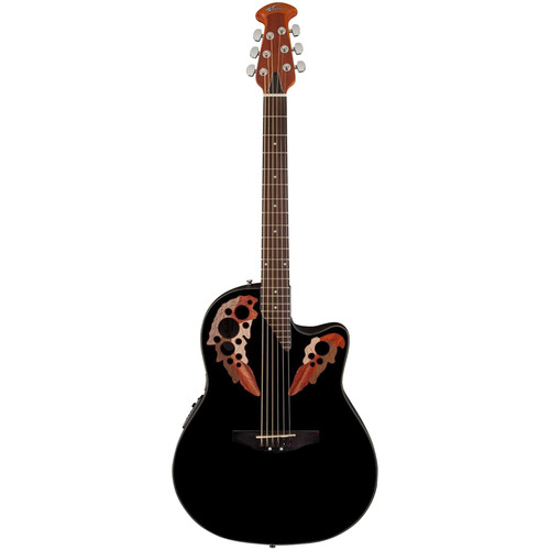 Ovation AE44-5 Applause Elite Acoustic/Electric Guitar (Black)