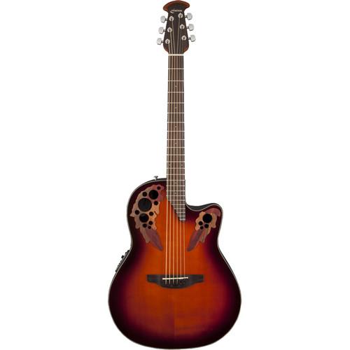 Ovation CE44-1 Celebrity Elite Series Acoustic/Electric Guitar (Sunburst)